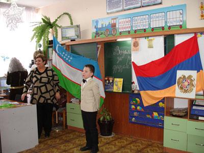 Накашьян Сурен читал стихотворение на армянском языке